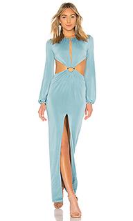 Вечернее платье с открытой спиной anerae - Michael Costello