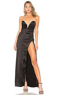 Вечернее платье без бретелек laurel canyon - NBD