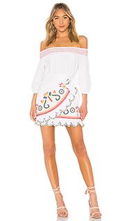 Мини-платье с открытыми плечами maida - Tularosa