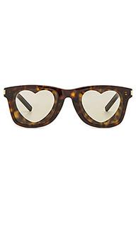 Солнцезащитные очки heart - Saint Laurent
