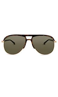 Солнцезащитные очки aviator acetate and metal - Gucci