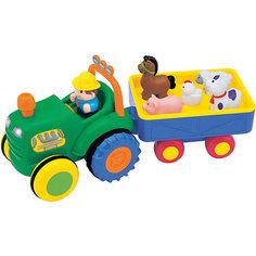 """Интерактивная игрушка Kiddieland """"Трактор фермера"""""""