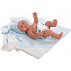 """Кукла-пупс Llorens """"Бэбито Селесте"""" с одеялом, 26 см"""