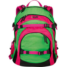 Рюкзак iKON, зелено-розовый