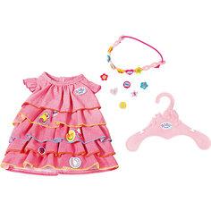 Платье и ободок-украшение BABY born Zapf Creation