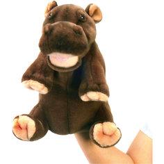 Мягкая игрушка на руку Hansa Гиппопотам, 24 см