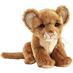 Мягкая игрушка Hansa Львенок коричневый, 17 см