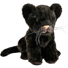 Мягкая игрушка Hansa Детеныш ягуара черный, 17 см