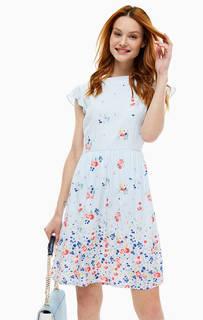 Короткое платье с цветочным принтом Cath Kidston