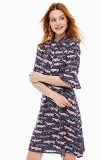 Платье средней длины с расклешенной юбкой Cath Kidston