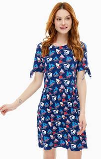 Платье с расклешенной юбкой Cath Kidston