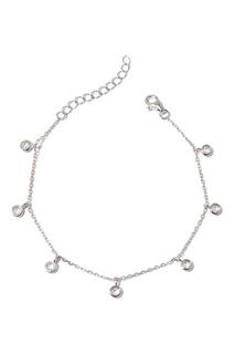 Серебряный браслет с подвесками Dzhanelli Jewellery