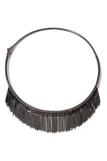 Чокер с бахромой из цепочек Dzhanelli Jewellery