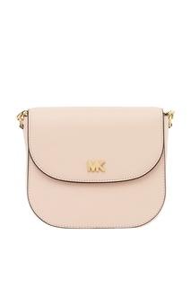 Розовая сумка с клапаном Crossbodies Michael Kors
