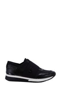 Черные кроссовки на резинке Michael Kors