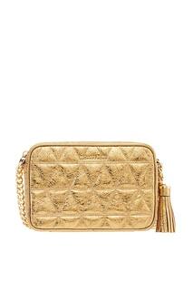 Золотистая сумка Ginny Michael Kors