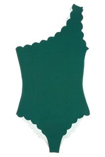 Зеленый асимметричный купальник Santa Barbara Marysia