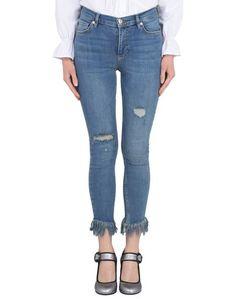 Джинсовые брюки-капри Free People