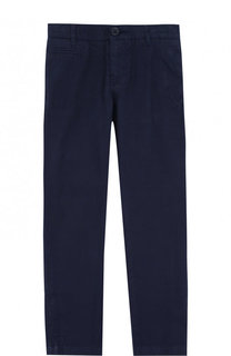 Хлопковые брюки прямого кроя Marc Jacobs