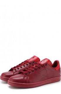 Кожаные кеды Stan Smith на шнуровке Adidas by Raf Simons
