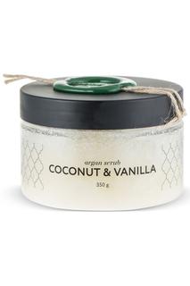 Аргановый скраб кокос-ваниль Huilargan