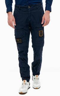 Хлопковые брюки джоггеры Aeronautica Militare