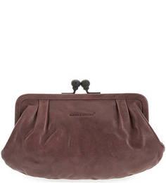 Кожаный кошелек фиолетового цвета Aunts & Uncles