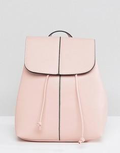 Рюкзак с затягивающимся шнурком Pieces - Розовый