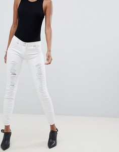 Рваные джинсы скинни с моделирующим эффектом Freddy WR.UP - Белый