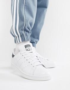 Белые кожаные кроссовки adidas Originals Stan Smith M20325 - Белый