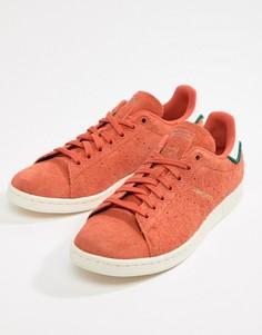 Оранжевые кроссовки adidas Originals Stan Smith CQ3091 - Оранжевый