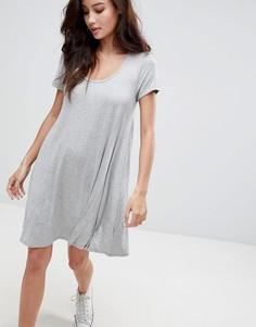 Свободное платье Brave Soul - Серый