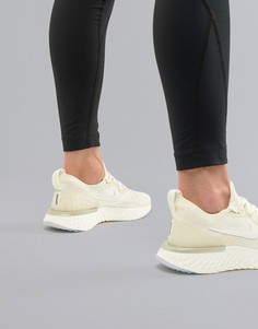 Золотистые кроссовки Nike Running Epic React - Золотой