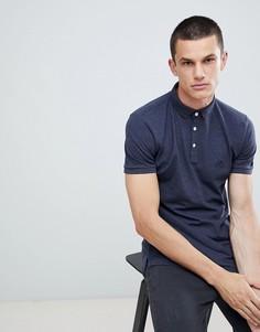 Черная футболка-поло Lindbergh - Темно-синий