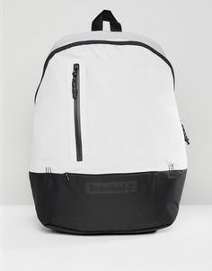 Серый рюкзак с крупным логотипом Timberland - Серый