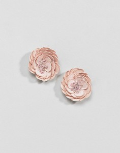 Серьги-гвоздики ASOS DESIGN - Розовый