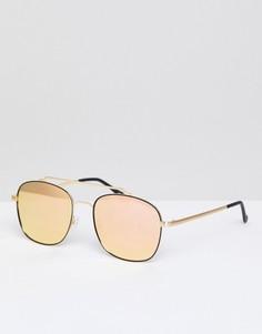 Солнцезащитные очки-авиаторы Quay Australia To Be Seen - Золотой
