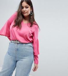 Блузка с ярусными рукавами Junarose - Розовый