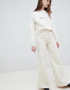 Широкие джинсы Waven Nella - Кремовый