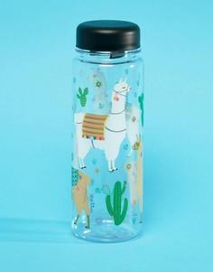 Бутылка для воды Sass & Belle Llama - Мульти