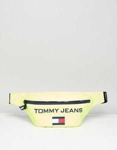 Сумка-кошелек на пояс в стиле 90-х Tommy Jeans Capsule 5.0 - Желтый
