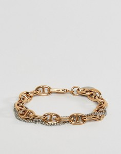 Браслет цвета розового золота DyrbergKern - Золотой
