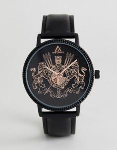 Часы с черным ремешком ASOS DESIGN - Черный