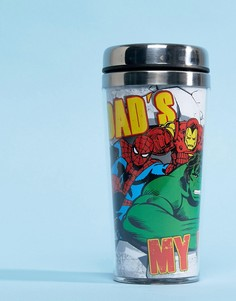 Дорожная кружка Marvel Fathers Day Dads My Hero - Мульти BB Designs