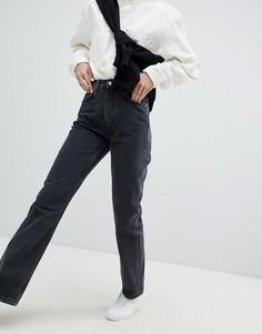 Укороченные джинсы в винтажном стиле Weekday Voyage - Черный
