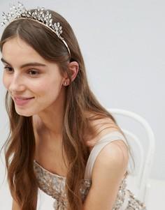 Заколка для волос с кристаллами Stone & Rose - Золотой