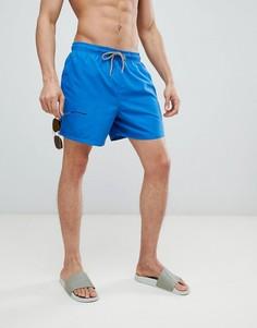 Синие шорты для плавания New Look - Синий