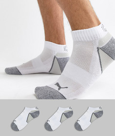 3 пары белых носков Puma Golf Pounce 89757901 - Белый
