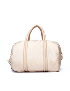 Бежевая спортивная сумка Yeezy