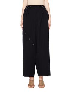 Шерстяные брюки с подтяжками Yohji Yamamoto